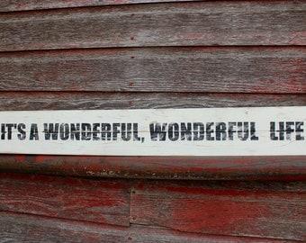 It's a Wonderful Life Sign