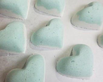 Coconut Lime Heart