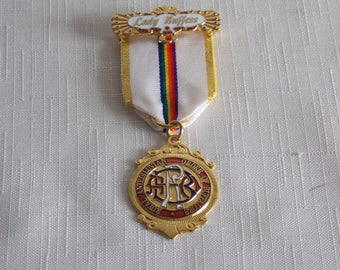 A Price reduced.... Lady Buffess dress medal RAOB.