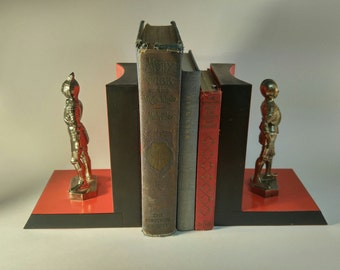 Vintage Knight Bookends