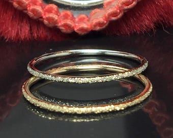 BIG SALE 14k/10k gold Ladies Dainty Ring - Gold Pinky Ring - Bridesmaid Rings - Gold Stacking ring - Simple Gold ring - midi ring gold