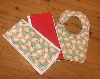 Bib & Burpcloth Set