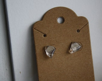Smokey Quartz Stud Earrings