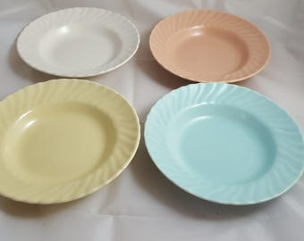 4 Franciscan Coronado Berry Bowls Multicolor