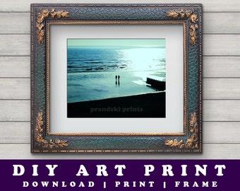 Photographic Art Print, Photographic Print, Hastings Beach, Landscape Art, Hastings Art Photograph, Michael Mischewski, Printable Photo Art