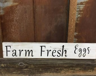 Handmade Farm Fresh eggs
