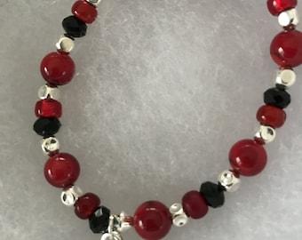 Red Heart Bracelet