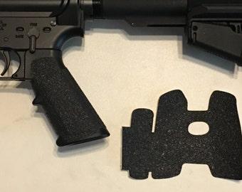 AR 15 Classic Pistol Grip Textured Rubber Grip Enhancement Wrap Gun Parts Accessaries