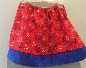 Anchor skirt | Etsy
