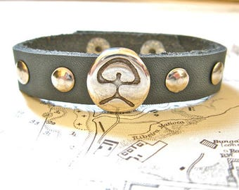 Indalo man bracelet - said to offer protection and good fortune