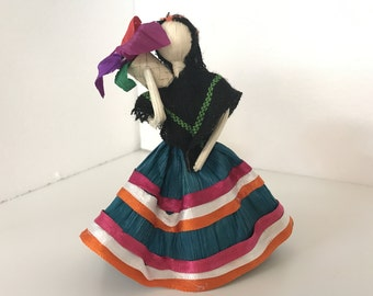 Mexican Corn Husk Doll