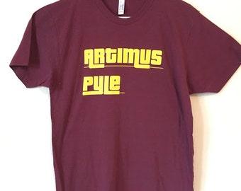Large American Apparel Tri Blend T shirt (maroon) Lynyrd Skynyrd, Artimus Pyle, Drummer, 70's, Classic Rock. Southern Rock. Comfortable!