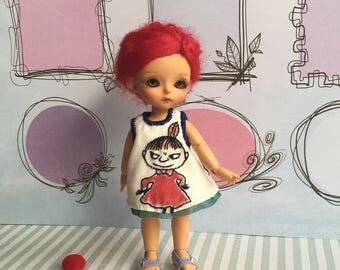 Lati White Moomin Little My Dress