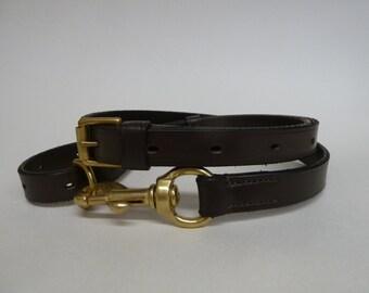 Handmade Leather Equine Handy Strap