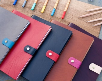 Corio Leather Jotter notebook