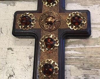 Wood Cross / Wall Cross / Decorative Cross / Rustic Wood Cross
