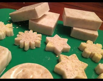 All natural bar soaps made with organic ingredients