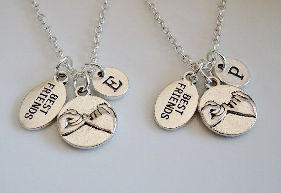 promise neklaces best friends necklaces set