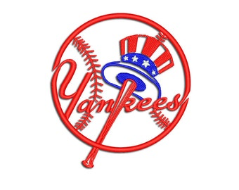 Yankees embroidery design - Machine embroidery design