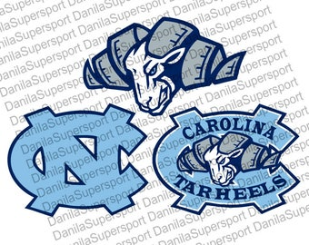 Tar Heels SVG, DXF, PNG, eps, cdr, Vector, Digital Cut File