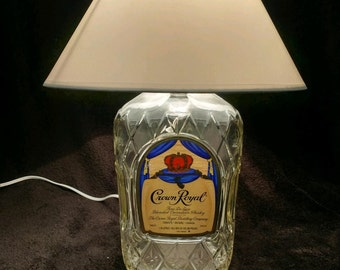 Crown Royal desk lamp.