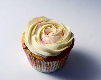 Triple Berry Buttermilk Cupcake