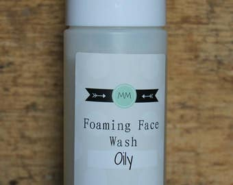 Foaming Face Wash for Oily Skin