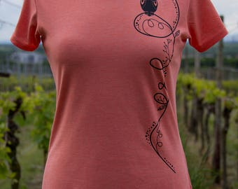 T-Shirt / / floral OWL