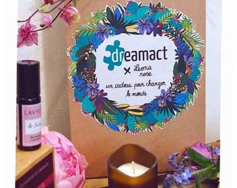 A gift for MOM or a woman who matters to you: the Spring - Dream Act Box.