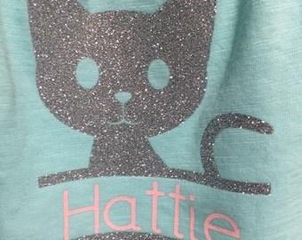 Personalized Kitty Cat shirt