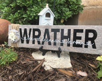 Personalized Family Tile - Home Decor