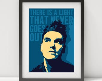 the smiths, morrissey, morrissey poster, the smiths poster, morrissey art, music poster, rock legend, lyrics poster, rock poster, prints