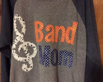 Marching Band Mom Shirt, Band Nana, Guard Mom  ANY COLOR