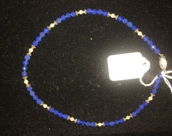 Blue Onyx Necklace