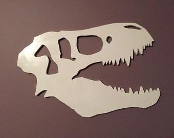 T-Rex Skull Wall Hanging
