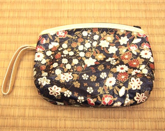 flower pouch / vintage mini bag