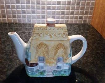 Novelty Cottage Teapot