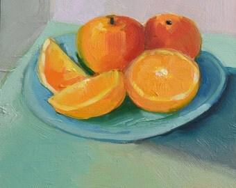 Tangerines,6x6