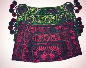 Hmong Pom Pom bags