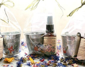 Purifying Essential Oils Room Spray & Lavender E.O Soy Candle Gift Set