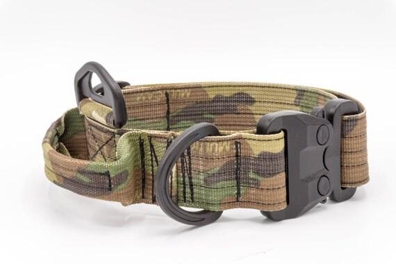 Tactical Dog Collar Cobra Buckle