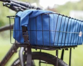 Bicycle Rack or Basket Bag - Royal Blue