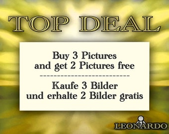 TOP DEAL 2 - buy 3 pictures and get 2 pictures free - buy 3 pictures and get 2 wallpapers for free