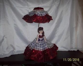 Southern Belle Doll Lamp