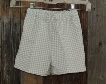Child GW Checked Shorts