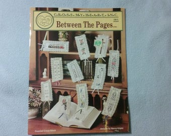 Bookmarks - Between the Pages Counted Cross Stitch Patterns