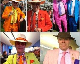 Superior 100% Cotton Brightly Coloured Luxuriously Lined Wacky Crazy Suits