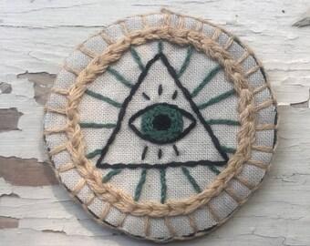 Illuminati Merit Badge Sew-On/Iron-On Patch
