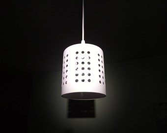 Industrial holey lamp