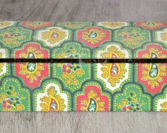 pencil case in vintage fabric
